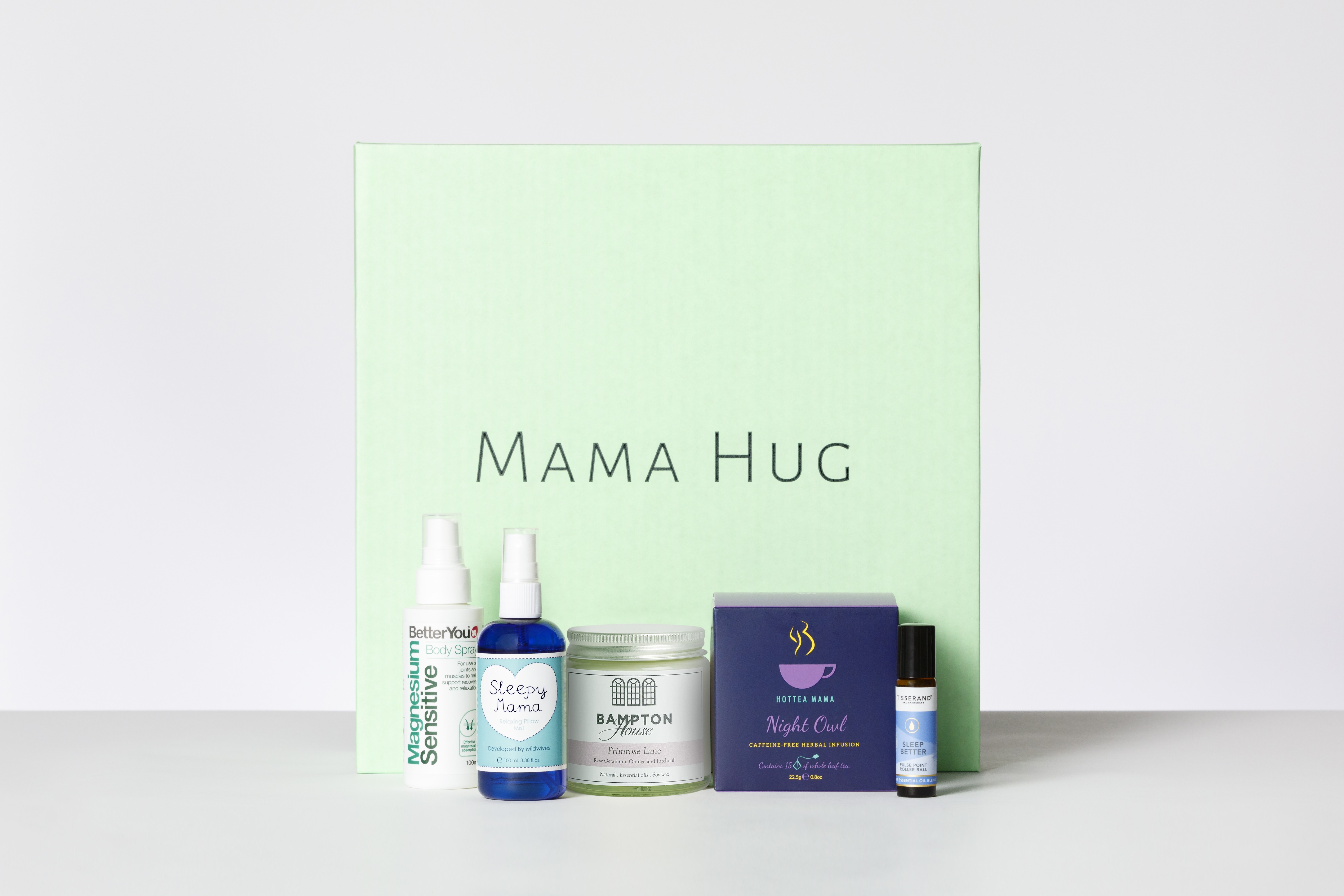 Bosom Essentials - New Mum Breastfeeding Box Mama Hug