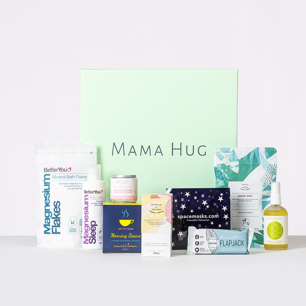 Bosom Essentials - New Mum Breastfeeding Box Mama Hug