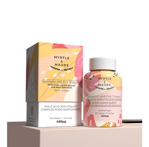 • Myrtle and Maude Wild Nutrition Folic Acid