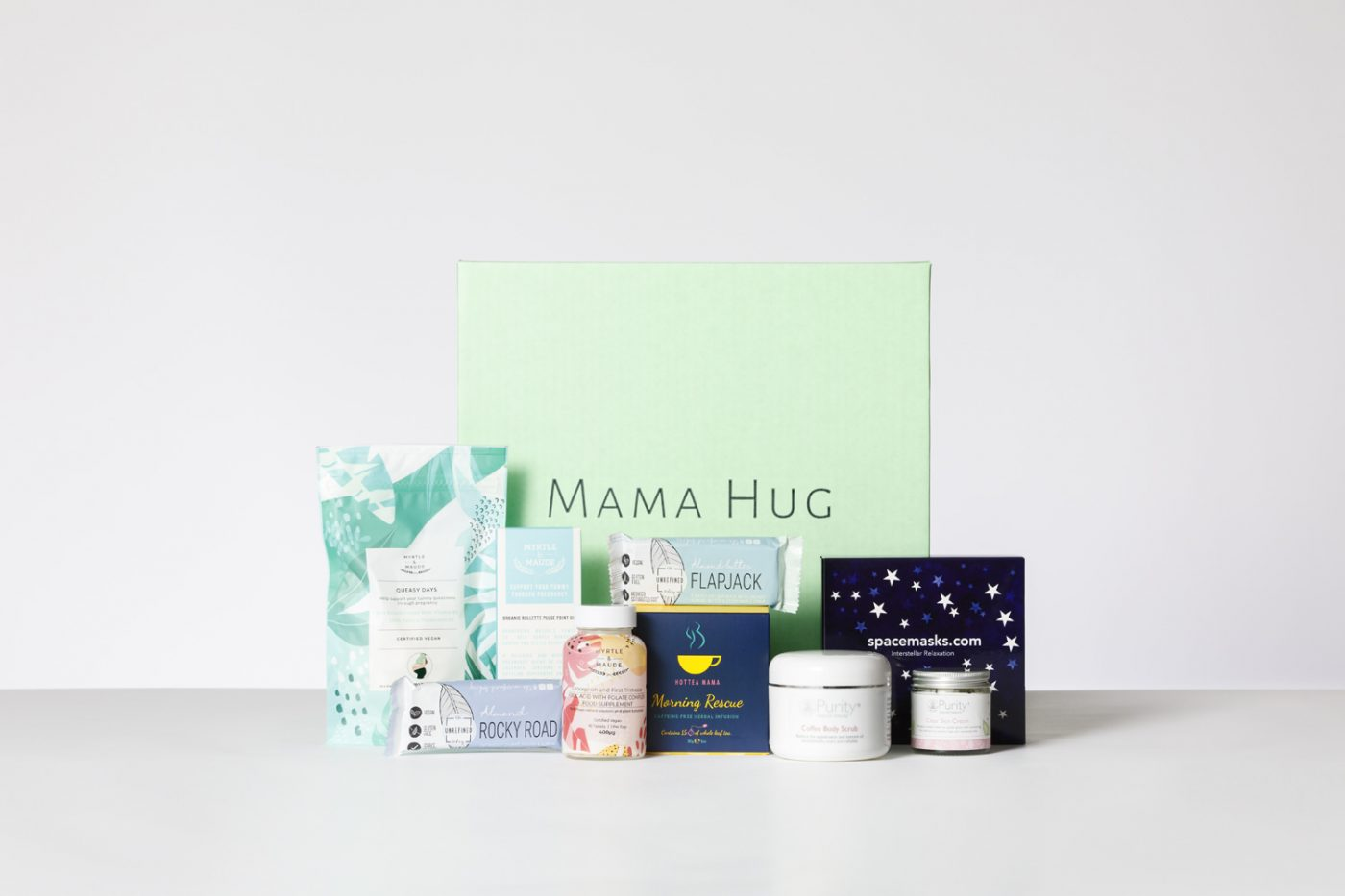 Luxury Trimester Box Subscription Mama Hug