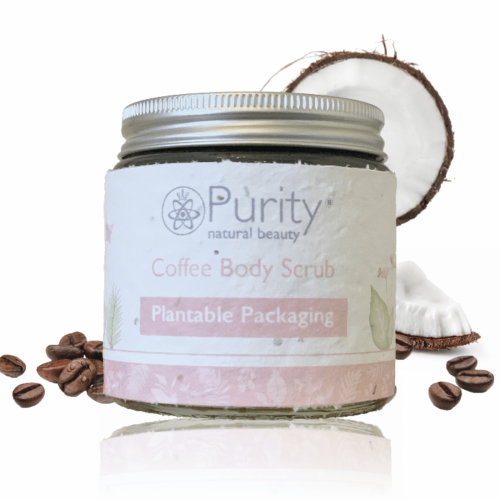 Purity Natural Beauty Coffee Scrub Mama Hug