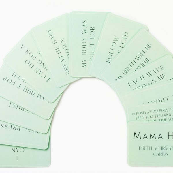 Hypnobirthing Affirmation Cards Mama Hug