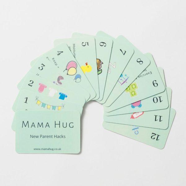 New Parent Hack Cards Mama Hug